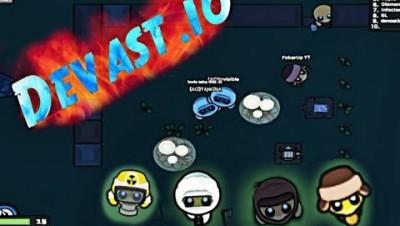 Devast.io Crafting All Scarfs And Radiation Suits | Devast.io Gameplay