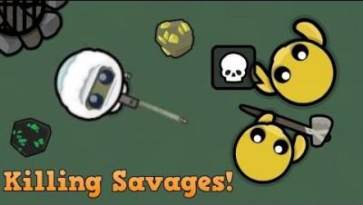 Devast.io Killing Savages With The 9MM!! (Gun Gameplay) + Epic 1v1's! (Devast.io Gameplay)