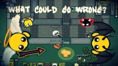 Devast.io Max Good Karma LvL 4 Best Base And MP5  What Could Go Wrong ?