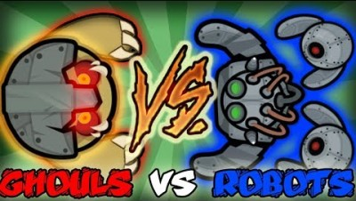 Devast.io Robots vs Ghouls Epic Fight Montage