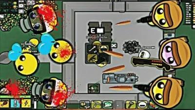 Devast.io Sawed-Off ShotGun Stone Floors Base Max Bad Karma Lvl0 Guards