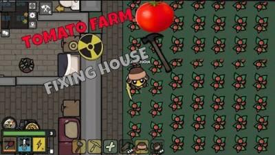 Devast.io Tomato farm & Fixing abandon house