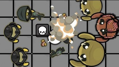 Devast.io Update -  NEW EXPLOSIVE GHOULS, LASER TAG MINIGAME! - TESLA ARMY VS GHOULS!