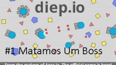 Diep.io #1 Matamos Um Boss e Batalhas.