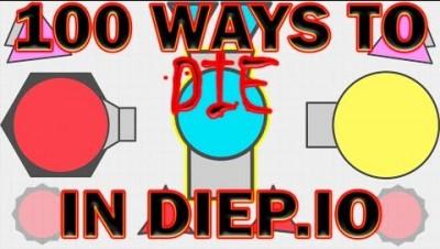 Diep.io - 100 Ways to Die in Diep.io