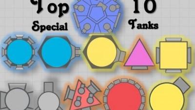 Diep.io   ALL SPECIAL TANKS/CLASSES   Diep.io TOP 10 SPECIAL TANKS/CLASSES   Diep.io ALL MINIBOSSES!