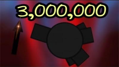 Diep.io BOOSTER 3,000,000 SCORE - FFA - JB