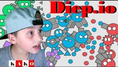 Diep.io - DIEP.IO Gameplay PT/BR - Gameplay Diep.IO - DIEP.IO #1 / KAKO DIEP.IO