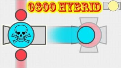 Diep.io - Hybrid Destruction #17