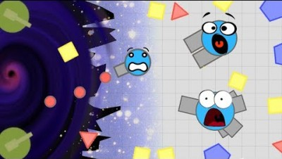 DIEP.IO IS IN SPACE!? BLACK HOLES!? | NEW .io Game Like Diep.io and Surviv.io | Saucers.space
