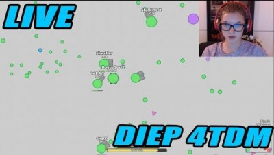 Diep.io | LIVE | LET'S TAKE OVER THIS SERVER BOYS