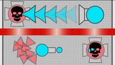Diep.io Maze - Sniper vs Overlord / Mega Trapper Highlights