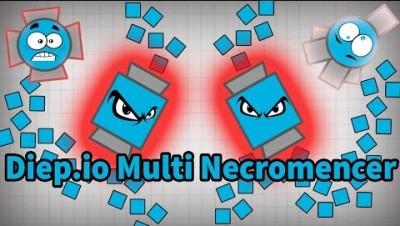 Diep.io Multi Necromencer Trolling | Double Tanks