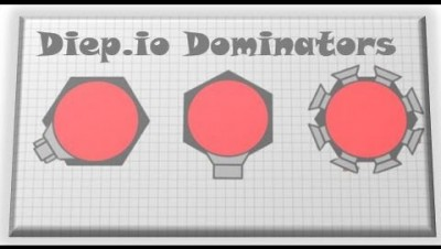 Diep.io | NEW TYPES OF CONTROLLABLE DOMINATORS IN TAG MODE- TRAPPER DOMINATOR AND GUNNER DOMINATOR!