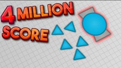 Diep.io Promo - 4 MILLION SCORE WITH OVERSEER (World Record) -