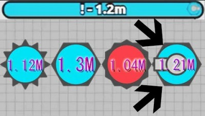 Diep.io - Smasher Branch 1 Million: The Final Chapter (Auto Smasher, 1.21M Score)