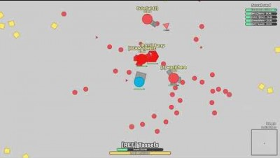 Diep.io Soccer Game | ARENA CLOSERS V. DOMINATOR