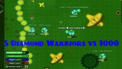 Doomed.io Game - 5 Diamond Gear Players VS 1000 Turrets Doomed.io Gameplay