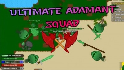 Doomed2.io Killing The Boss Multiple Times   Making Adamant Hell GreatAxe Army