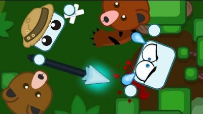 DRAGON GEAR EXPLORER GETS ATTACKED BY BEAR // Starve.io