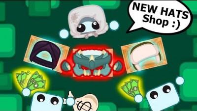 *DRAGON GEAR* + HATS Shop In Starve.io! (Starveio Shop)