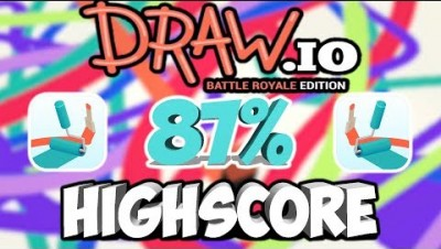 DRAW.IO GAMEPLAY | FIRST HIGHSCORE (87%)