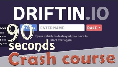 ✔ Driftin.io in 90 seconds! ( Tip & Tricks included ) | #Random.io Crash Course 3 | Driftinio