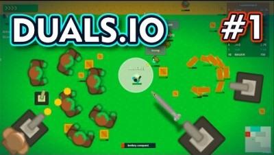 Duals.io - JOGUEI ZUMBIS NELES - Gameplay #1