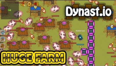 Dynast.io - Biggest Farm Ever | Moded Farm in Dynast.io