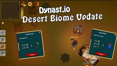 Dynast.io Desert Update | Dynast test server