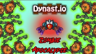 Dynast.io New Zombie Apocalypse Gameplay with Range Weapons