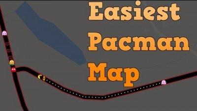 Easiest Google Pacman Map | Beating Pacman