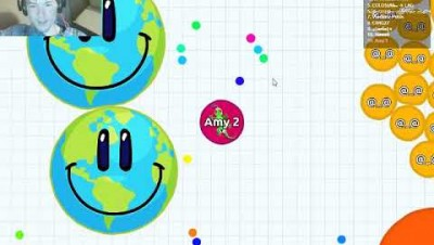 Eating other people! | Agar.io #1