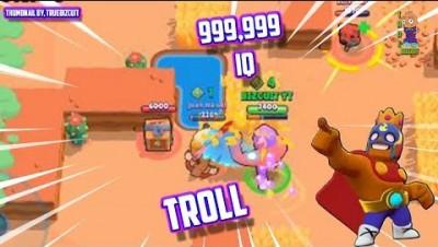 EPIC TROLLS vs +999,999 IQ in Brawl Stars I 5 Wins & Fails & EPIC FUNNY MOMENTS