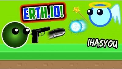 ERTH.IO NEW PLATFORM FIGHTING .IO GAME!! ARCHER DESTRUCTION - Erth.io New Update!) - iHASYOU