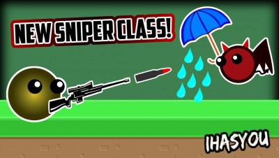 ERTH.IO NEW SNIPER & UMBRELLER STRONGEST HIGH TIER  CLASSES! (Erth.io New Update!) - iHASYOU