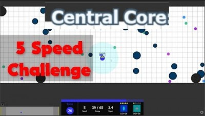 Evades.io // Central Core 5 Speed Challenge with Rime - Will i do it ?