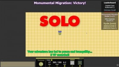 Evades.io // Monumental Migration Solo With Rameses to 120 //