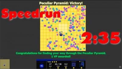 Evades.io - Peculiar Pyramid Inner Speedrun with Mirage - 2m35