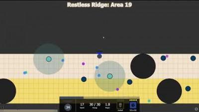 Evades.io - Restless Ridge Speedrun with Reaper - 15 Minutes