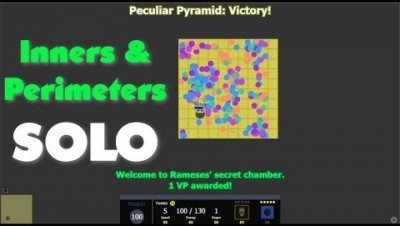 Evades.io - Solo'ing Peculiar Pyramid through Perimeters And Inners (Euclid & Reaper)
