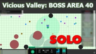 Evades.io // Solo'ing Vicious Valley to the Victory
