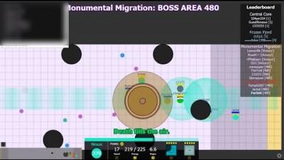 Evades.io - Uncut Monumental Migration 480 Machine WR - 43mins
