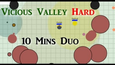 Evades.io - Vicious Valley Hard Duo Ft. TheTroll WR - Jolt & Reaper