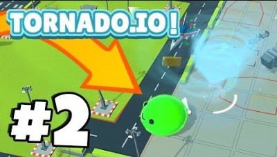 EVIL SLIME BOSS *IMPOSSIBLE* TO KILL!? | TORNADO.IO! | Tornado.io Gameplay Part 2