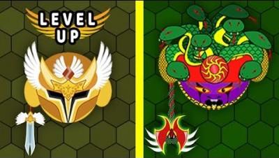 Эволюция Король Змей! EvoWars.io Новая io Игра
