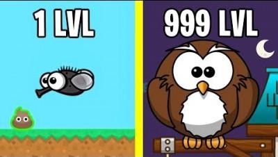 Эволюция Животных Ночью! FlyOrDie.io Новая io Игра
