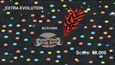 EvoWars.io BUTCHER EXTRA EVOLUTION Score: 59,000