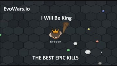 EvoWars.io Caveman: I Will Be King (THE BEST EPIC KILLS)