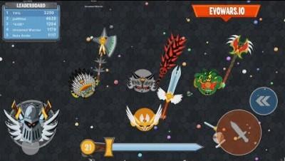 EvoWars.io Evolutions Unlocked 21/21 Score: 40,000